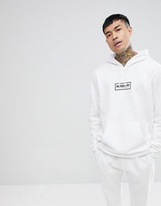 Read more about Adidas skateboarding spell out pullover hoodie in white cf3137 - white