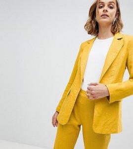 Read more about Unique 21 linen blazer co-ord - mustard