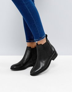 Read more about Office bramble leather chelsea ankle boots - black