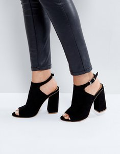 Read more about Asos headshot heels - black