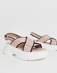 Read more about Truffle collection sporty chunky flat sandals