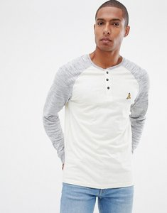 Read more about Brave soul long sleeve raglan crew neck - cream