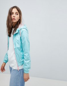 Read more about Brave soul cupid lightweight jacket with contrast zip - mint