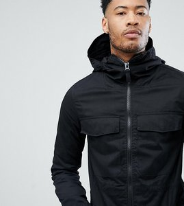 Read more about Bellfield lightweight parka - black