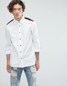 Read more about Dr martens panelled shirt - white