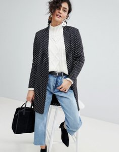 Read more about Selected polka dot long blazer - multi