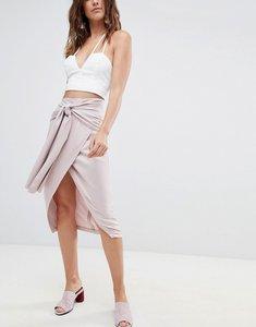 04d9a5fec asos midi pencil skirt with zip front black - Shop asos midi pencil ...