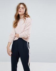 Read more about New look chenille crop jumper - nude
