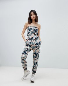 Read more about Ichi camo printed festival jumpsuit - laurel wreath