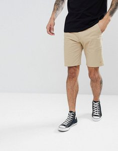Read more about Farah hawk chino twill shorts in light sand - 285 light sand