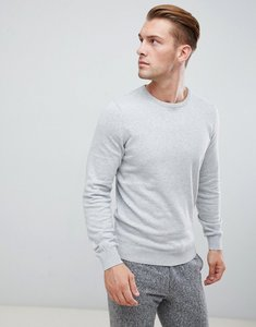 Read more about Pier one crewneck jumper in light grey - mottled light grey