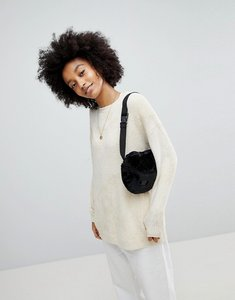 Read more about Asos oversized jumper in chenille - oatmeal