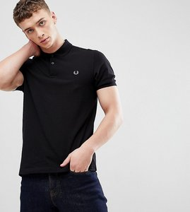 Read more about Fred perry slim fit plain polo in black - 906