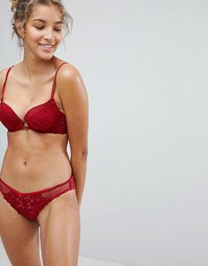 Read more about New look lace brazillian brief - red