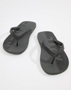 Read more about Jack jones flip flops - anthracite