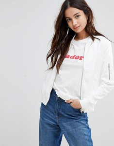 Read more about Glamorous bomber jacket - white