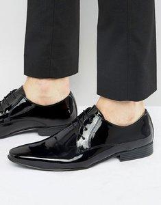 Read more about Kg by kurt geiger kendal patent derby shoes - black
