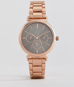 Read more about New look gold watch - pink