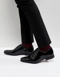 Read more about Kg by kurt geiger patent lace up shoes - black