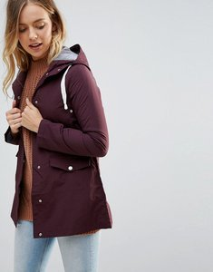 Read more about Brave soul digger rain coat - mulberry
