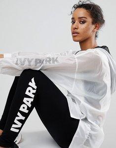 Read more about Ivy park translucent windbreaker jacket - black