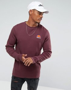 Read more about Ellesse long sleeve t-shirt with small logo - red