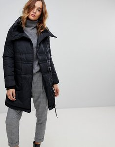 Read more about Vero moda down high neck padded jacket - black