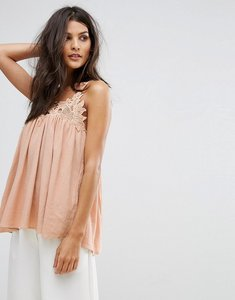 Read more about See u soon emb cami top - pink