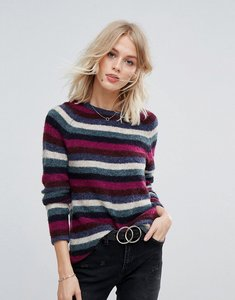 Read more about Esprit multi coloured stripe jumper - multi