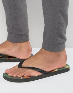 Read more about Abuze camo flip flops - green
