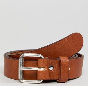 Read more about Weekday perfect tan leather belt - tan