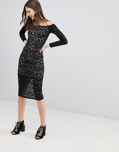 Read more about Glamorous lace dress - black