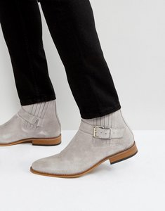 Read more about House of hounds adrian suede buckle boots in grey - grey