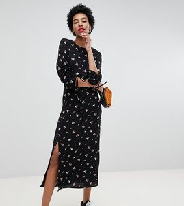 Read more about Glamorous tall midi dress in vintage floral
