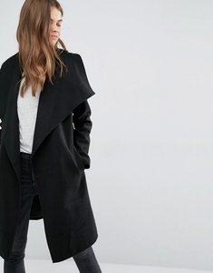 Read more about Jdy wrap coat - black
