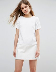 Read more about Traffic people lace shift dress - white
