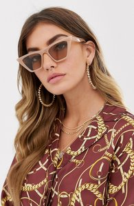 2ac562f43562 Read more about Asos design cat eye sunglasses with square frame
