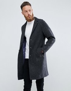 Read more about Mango man wool overcoat in grey - grey