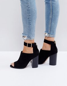 Read more about Asos orla heeled shoes - black
