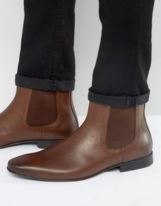Read more about Kg by kurt geiger kempston chelsea boot - brown