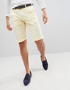Read more about Esprit slim fit chino shorts in yellow - 770