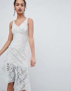 Read more about Coast lichina mint lace midi dress - mint