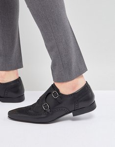 Read more about Kg by kurt geiger monk shoes - black