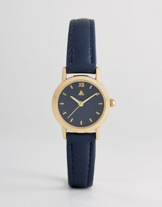 Read more about Asos mini navy tonal watch - navy