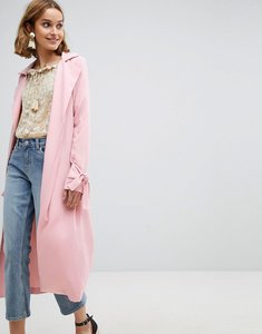 Read more about Vero moda trench coat - pink