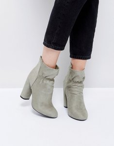 Read more about Public desire suzanna heeled ankle boots - grey