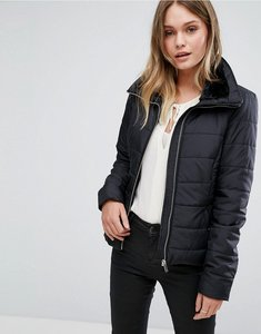 Read more about Vero moda panel detail padded jacket - black beauty
