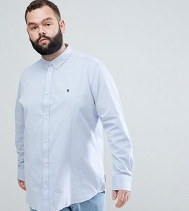 Read more about French connection plus oxford shirt - blue