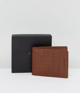Read more about Paul costelloe embossed leather wallet in tan - tan