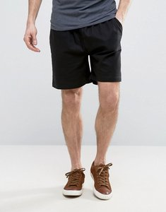 Read more about French connection linen draw string shorts - black